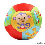 Youkara 7 Animal Cognitive Ball Filled With Cotton For Baby To Learn In Play