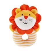 Music Toys,Clode® 1PC Creative Children Baby Animal Handbells Musical Developmental Toy Bed Bells Rattle Toys Gift