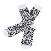 Brightup Family Matching Parent Child Baby Cotton Casual Unisex Socks,Christmas Socks,Mommy Dad Baby Leopard Printed Socks