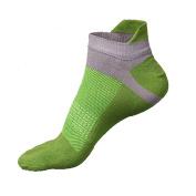 Yalatan Men's Socks Cotton Sports Five Finger Socks 5 Toe Socks