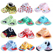 Domybest Baby Toddler Socks Slippers Anti-slip Cute Socks