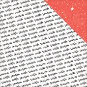 Wish Season Double-Sided Cardstock 30cm X 30cm -Season To Wis