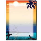 Endless Summer Letterhead Printer Paper, 80 Sheets