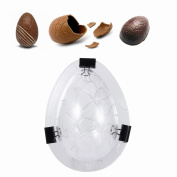 3D Easter Egg Mould Crackling Egg Egg Chocolate Mould DIY Tool Egg Cake For Party Decoration