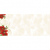 Poinsettia Swirl #10 Env