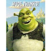 Shrek 2 Thank You Notes w/ Envelopes