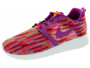 Nike Kids Rosherun Flight Weight Gs White/bld Brry/ttl Orng/pnk Pw Running Shoe 6.5 Kids Us