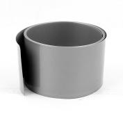 2m 50mm Flat 32mm Dia PVC Heat Shrink Tubing Grey for 2 x 18650 Battery