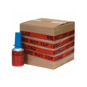 """Box Packaging Goodwrappers Identi-Wrap """"Do Not Top Load"""" Stretch Film, 80 Gauge, 13cm x 150m 6 Rolls/Case"""
