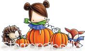 Stamping Bella Cling Stamps-Pumpkin Friends