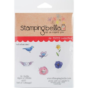 Stamping Bella Cling Stamp, 17cm x 11cm , Mister Postie Signs of Spring