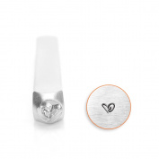 Boogie Heart Design Stamp, 3mm
