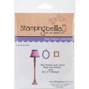 Stamping Bella Cling Stamp, 17cm x 11cm , Tiny Townie Room Decor