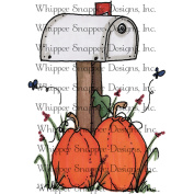 Whipper Snapper Cling Stamp 10cm x 15cm -Fall Mailbox
