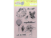 Photo Play About A Little Girl Polymer Stamp