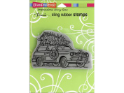 Stampendous Cling Stamp Woody Christmas
