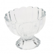 Sharplace Glass Dessert Bowls Juice Mug for Cottage Cheese, Fruit, Salsa for Wedding Party Christmas Family Gathering