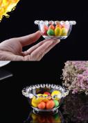 SELLIFY glass bead bowl originality collocation tableware breakfast dish dessert dish salad bowl Sugar & Creamer Pots