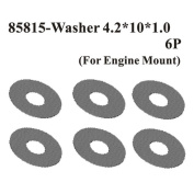 Redcat 85855 Washer4.2*10*0.5(For Engine Mount) 6Pcs