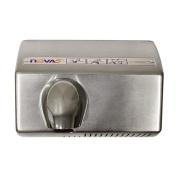 Nova 5 021299 Automatic, Heavy Duty Hand Dryer, Brushed Chrome Cover, 110-120V