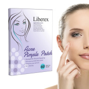 Liberex Acne Pimple Master Patch - Hydrocolloid Absorbing Dressing Bandages Cover, 20 Dots*3 Sheets, Φ12mm