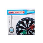 Safety Dart set - Soft Darts - Dartboad - Soft Tip Safety Darts and Dart Board - Great Games for Kids