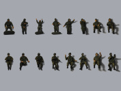 Modelcollect AS72077 Figures Russian Modern Crew A. Soldier Set