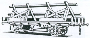 Parkside Dundas PC17 LNER 21t Trestle Waggon
