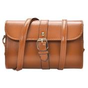 TianranRT Women Leather Shoulder Bag Messenger Satchel Tote Crossbody Bag Handbag (20cm(L)*13cm(H)*7cm