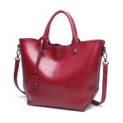 TianranRT Fashion Women PU Leather Handbag Crossbody Bag Shoulder Bag Satchel Tote Bag,Large Capacity (40cm(L)*13cm(W)*28cm