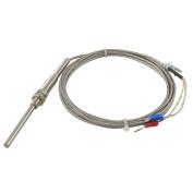 3 Metres 0-400 Degree Celsius Thermocouple K Type Probe Sensors