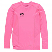 Sondico Kids Long Sleeve Core Base Layer Top Junior Compression Fit Sports