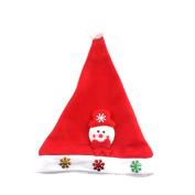 Yalatan 5 Styles Children Adult New Christmas Hat Santa Claus Happy Hats Headdwear