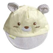 Yalatan Newborn Toddler Baby Girl Boy Kids Cap Snapback Baseball Dots Little Ear Hat