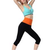 Yalatan Womens Fitness Pants Stretch Jogging Yoga Cropped Casual Legging Trouser