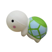 Lenfesh Cute Tortoise Squishy Slow Rising Cream Scented Toys Anti-stress Helper Stress Pressure Reliver Vent Ball For Kids & Adults