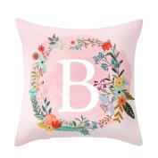 Yosemite Throw Pillow Case Sofa Bed Home Car Decor Cushion Cover Pink Gift