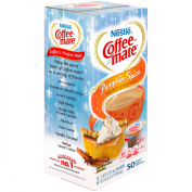 Nestle Coffee-Mate Pumpkin Spice Liquid Coffee Creamer 50-10ml Tubs