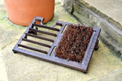 Cast Iron 3 in 1 boot brush, boot jack and scraper by the Garden Foundry