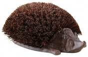 Cast Iron Hedgehog Boot Brush and Coconut