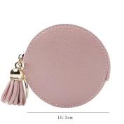 ZLR Ms. Wallet Thin Section Cute Little Wallet Tassel Flower Zipper Wallet