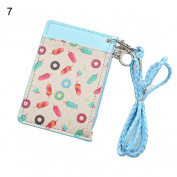 Women Girl Cartoon Animal Fruit Coin Purse Card Holder Zip Small Wallet