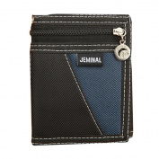 timeracing Fashion Men Trifold Short Wallet Canvas Sport Patchwork Burse Coin Card Holder Purse