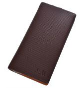 dandeli Leather Men's business hand bag Wallet,Purse, 19 Pockets Total (12 Credit Card Slots,6 large slot pockets,1 ID Slot) WA@KTWDA06LS