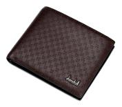 dandeli Leather Men's Wallet,Purse, 12 Pockets Total (8 Credit Card Slots,2 large slot pockets,2 ID Slot) WA@KTWDA01SK1