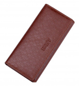 Fashion Leather Wallet,cards bag, Purse, 18 Pockets Total (13 Credit Card Slots,4 large slot pockets,1 ID Slot) WA@KTWWZ04LC1