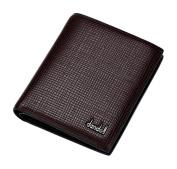 dandeli Leather Men's Wallet,Purse, 12 Pockets Total (8 Credit Card Slots,2 large slot pockets,2 ID Slot) WA@KTWDA07SZC