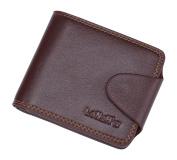 Fashion Leather Wallet,cards bag, Purse, 10 Pockets Total (7 Credit Card Slots,1 large slot pockets,2 ID Slot) WA@KTWWZ03SC1