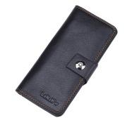 Fashion Leather Wallet,cards bag, Purse, 32 Pockets Total (24 Credit Card Slots,6 large slot pockets,2 ID Slot) WA@KTWWZ01LB