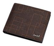 dandeli Leather Men's Wallet,Purse, 12 Pockets Total (8 Credit Card Slots,2 large slot pockets,2 ID Slot) WA@KTWDA01SK2
